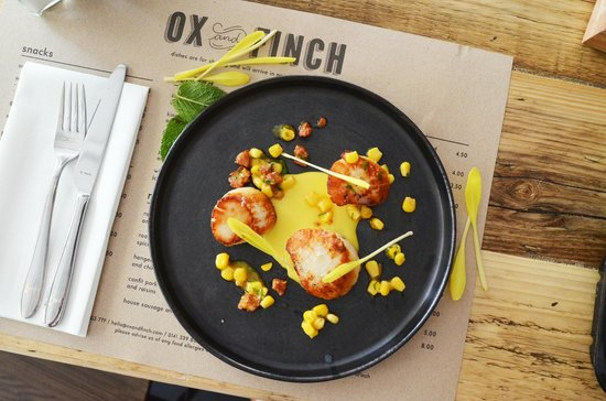 Restaurant Review: Ox and Finch