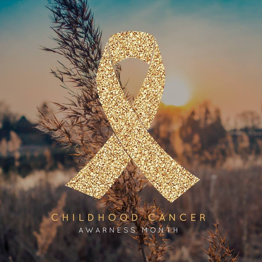 It's Childhood Cancer Awareness Month