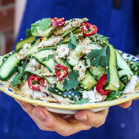 MOB Kitchen: Asian courgette and chicken salad