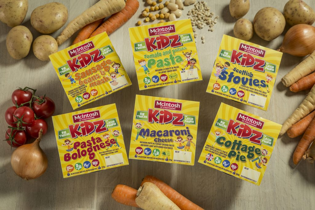 Tasty treats with McIntosh 'Kidz' meals