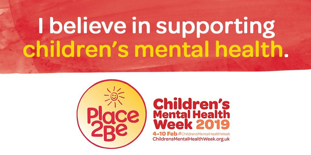 This week is Children's Mental Health Week