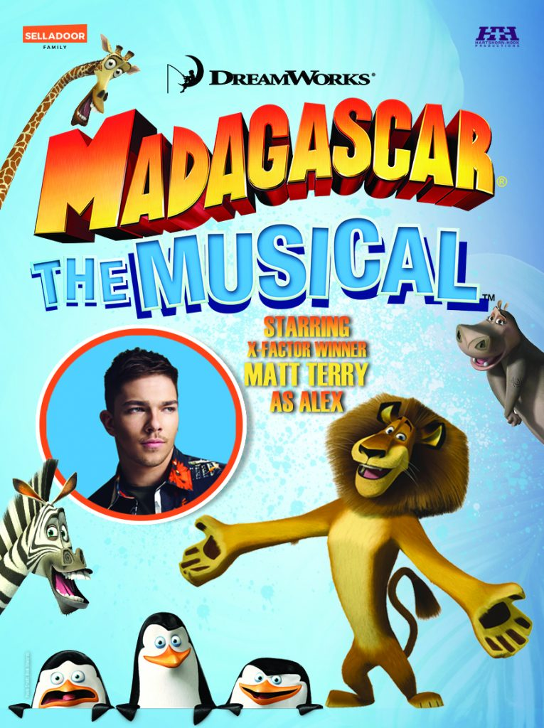 WIN A family ticket to Madagascar the Musical