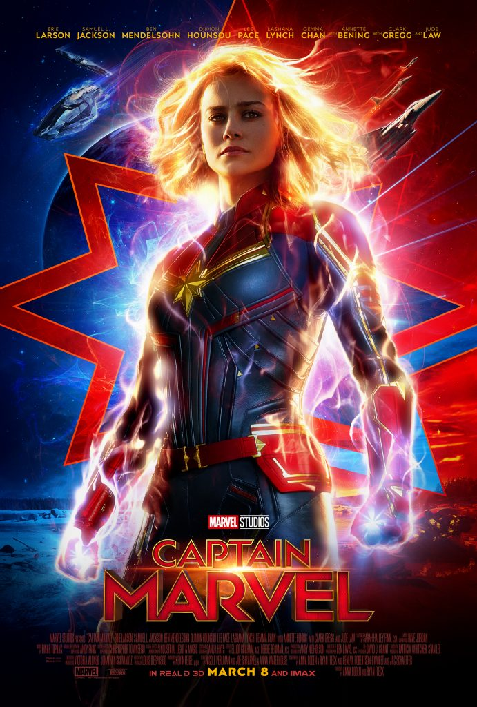 Captain Marvel hits the big screen to celebrate International Women's Day