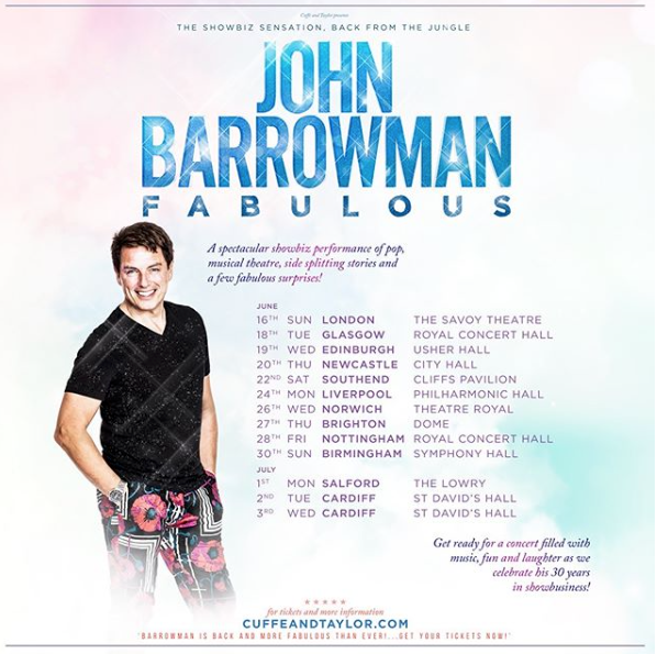 Getting fabulous with John Barrowman