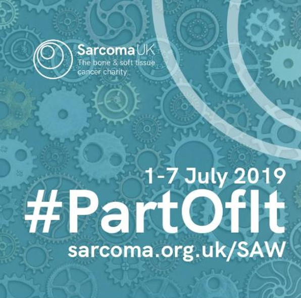 Becoming #PartOfIt this Sarcoma Awareness Week