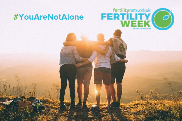 Knowing #YouAreNotAlone this Fertility Week