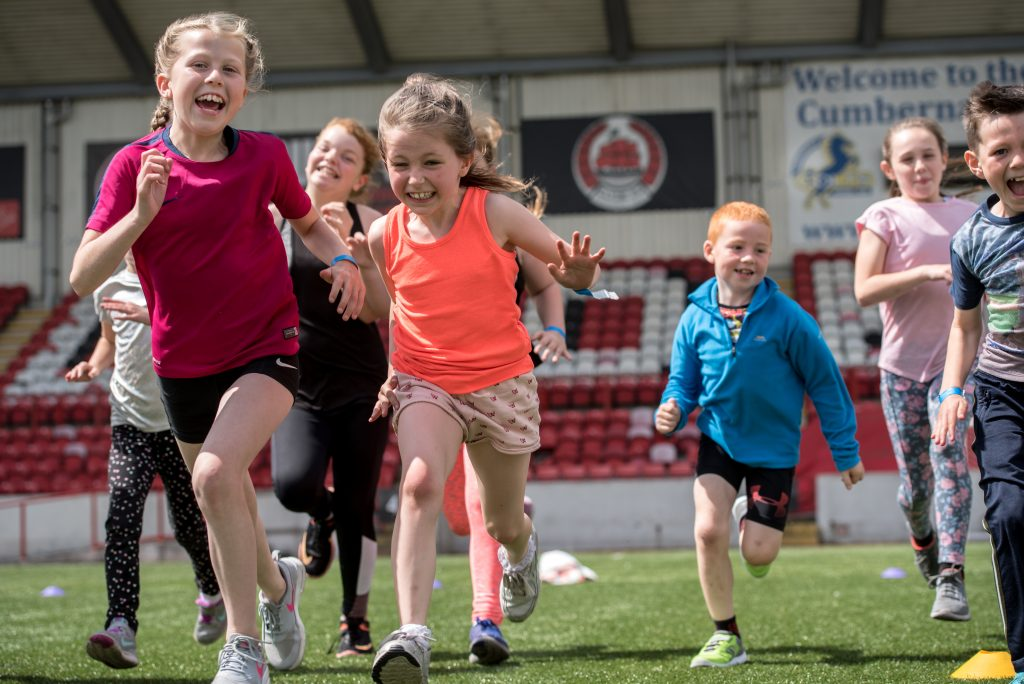Free sport five days a week with North Lanarkshire Leisure