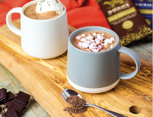 Recipe: Make the perfect deluxe hot chocolate with Mackies