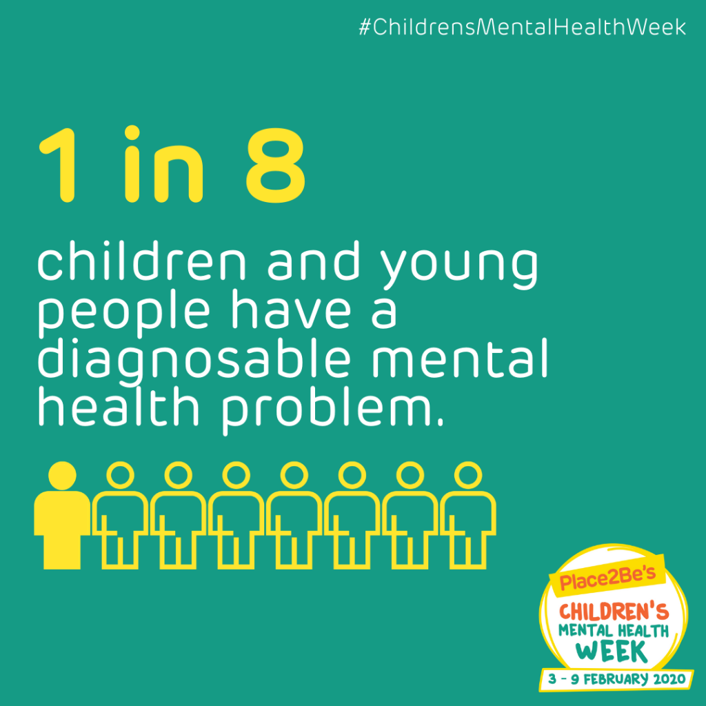 Raising awareness this Children's Mental Health Week