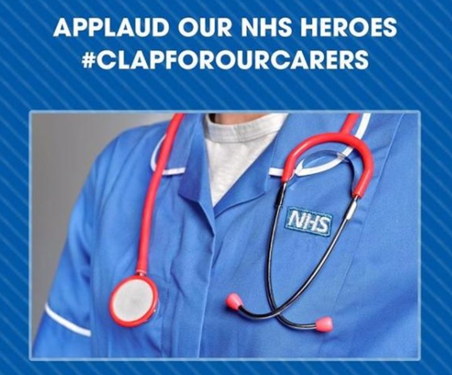 Watch as the UK comes together to #ClapForOurCarers